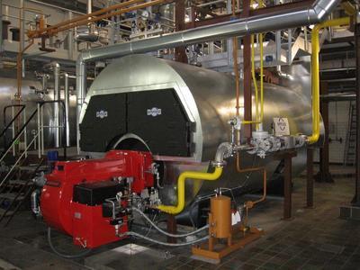 Dampfkesselanlage